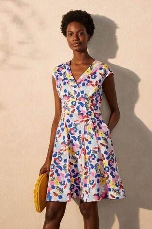 Boden Blue Clemmie Dress