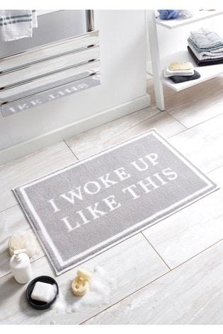I Woke Up Like This Bath Mat by Dip & Drip