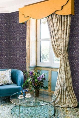 The Chateau by Angel Strawbridge Exclusive To Next Wildlfower Garden Wallpaper