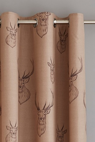 Stag Eyelet Curtains by Catherine Lansfield