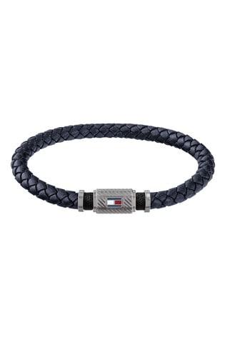 Tommy Hilfiger Mens Braided Bracelet