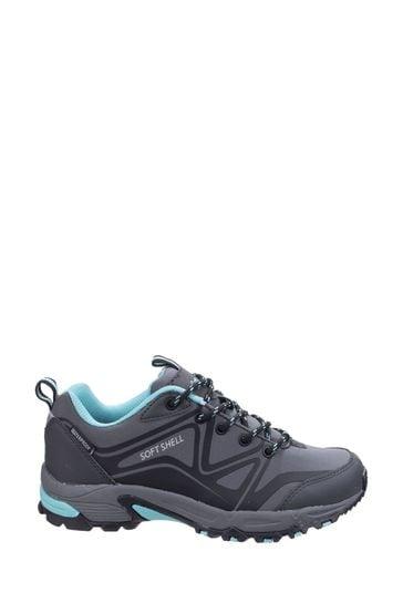 Cotswold Grey Abbeydale Low Hiker Boots
