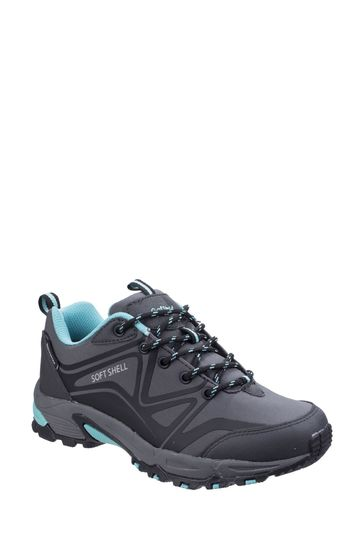 Cotswold Grey Abbeydale Low Hiker Boots