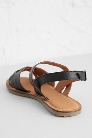 Seasalt Black Chapel Down Sandals