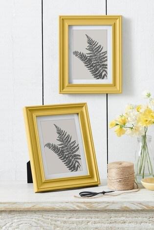 Set of 2 Ochre Hampton Frames