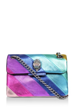 Kurt Geiger London Mini Kensington Rainbow Bag
