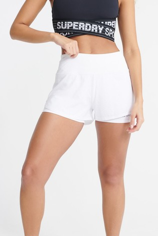 Superdry Training Lightweight Double Layer Shorts