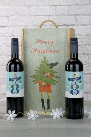 Spanish Malbec Festive Gift Box by Le Bon Vin