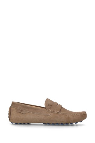 Kurt Geiger London Louis Beige Loafer Shoes