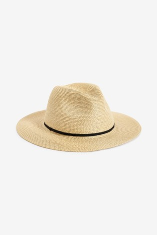 Accessorize Natural Packable Panama Hat