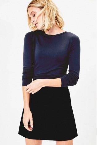 Oasis Blue Long Sleeve Top