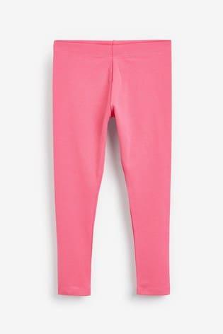 Turtledove London Cute Pink Leggings with Hi Graphic