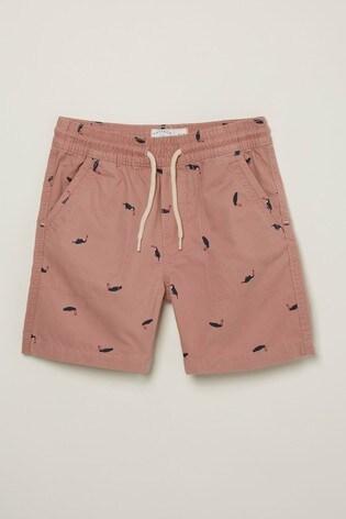 FatFace Studland Toucan Print Shorts