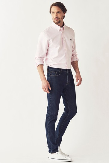 Crew Clothing Company Blue Spencer Slim Jeans