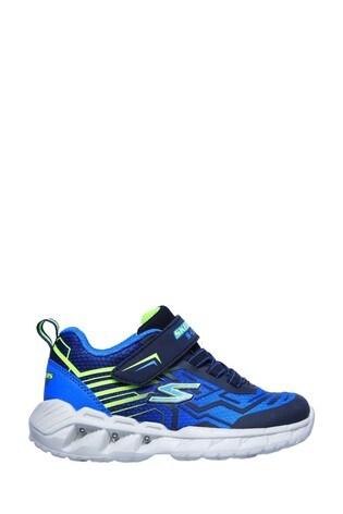 Skechers® Blue Magna-Lights Bozler Trainers