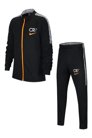 Nike Black CR7 Tracksuit
