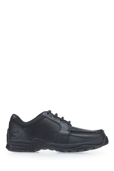 Start-Rite Dylan Black Wide Fit Leather Shoes