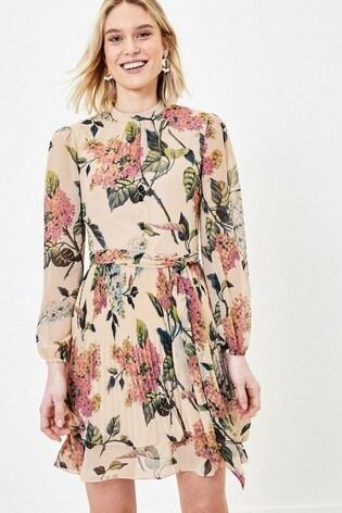 Oasis Natural Blossom Skater Dress