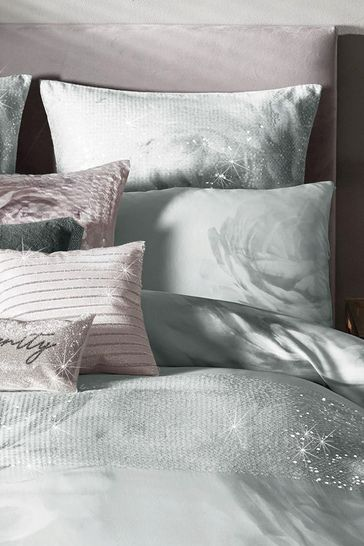 Set of 2 Rita Ora Florentina Mist Pillowcases