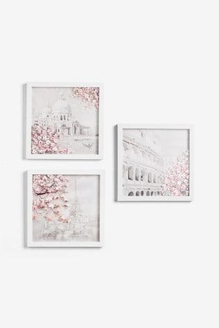 Set of 3 Blossom City Frames