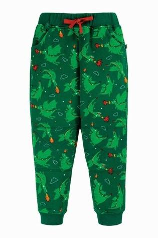 Frugi GOTS Green Dragon Organic Cosy Joggers