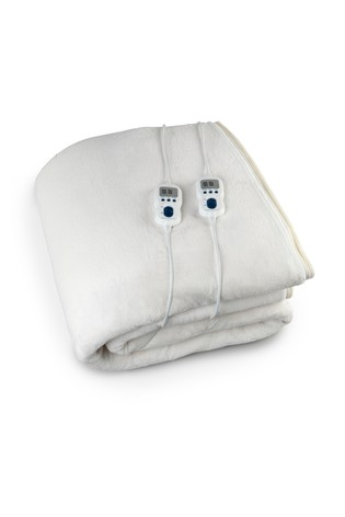 King Size Heated Fitted Fleece by Dreamnite