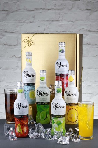 Set of 6 Mixed Cocktail Gift Set by Le Bon Vin