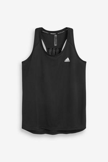 adidas 3 Stripe Vest