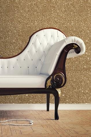 Muriva Gold Sparkle Wallpaper