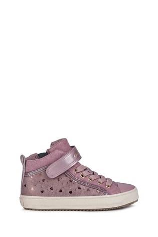 Geox Junior Girl's Kalispera Dark Pink Sneakers