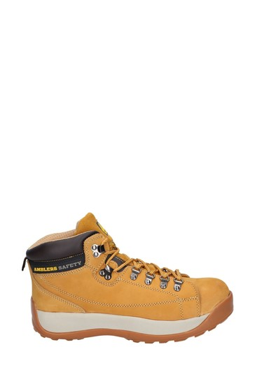Amblers Safety Honey FS122 Hardwearing Lace-Up Safety Boots
