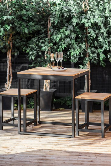 Camley Table Set Small By Garden Trading