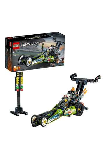 LEGO 42103 Technic Dragster Car Toy To Hot Rod 2-In-1 Set