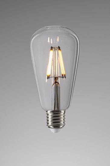 ES 4W LED Clear Pear Bulb