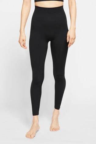 Nike Yoga Black 7/8 Seamless Leggings