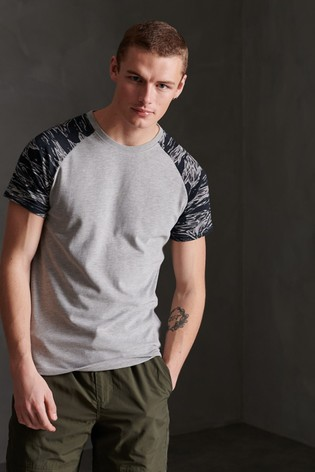 Superdry Camo Raglan T-Shirt