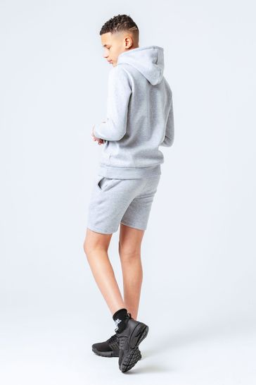 Hype. Grey Kids Hoodie And Shorts Set