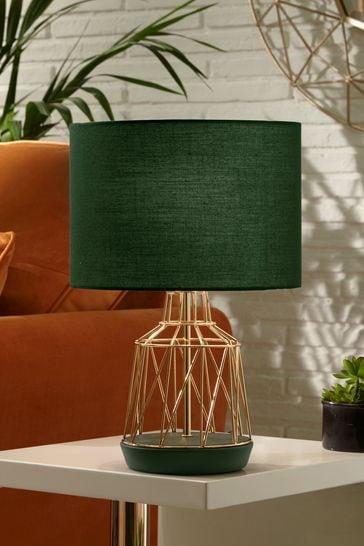 Village At Home Green Macraron Table Lamp