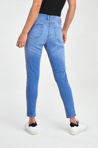 F&F Push Up Bright Blue Jeans