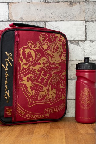 Harry Potter Crest And Customise Lunch Bag And Bottle