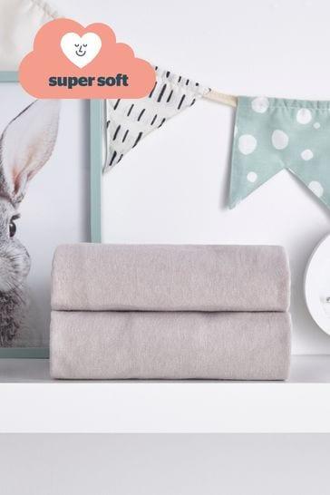 Silentnight Safe Nights Cot Bed Fitted Sheet