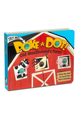 Melissa and Doug Poke-A-Dot Old MacDonalds Farm Book