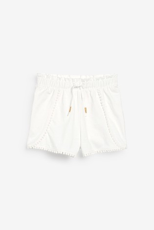 Blue/White 3 Pack Jersey Shorts (3-16yrs)
