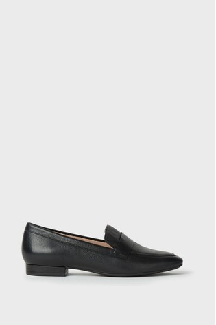 Hobbs Black Lucy Moccasins