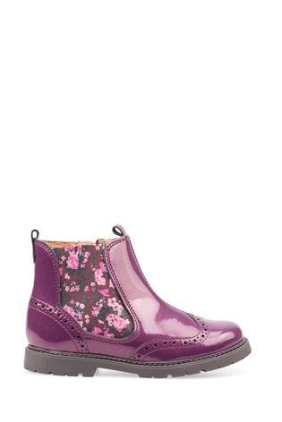 Start-Rite Purple Chelsea Boots