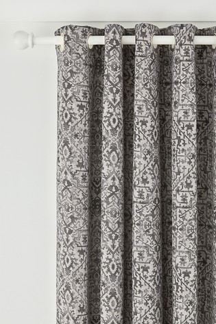 Bedeck of Belfast Dhaka Eyelet Curtains