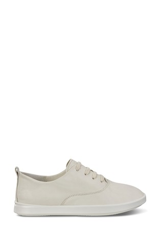 ECCO® Leisure Leather Lace Trainers