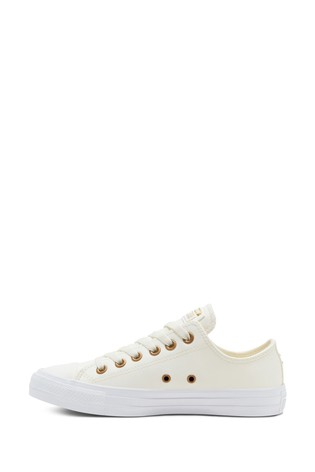 Converse Leather All Star Ox Trainers