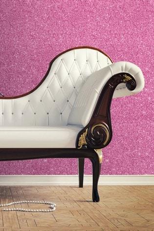 Muriva Pink Sparkle Wallpaper