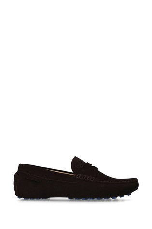 Kurt Geiger London Louis Brown Loafer Shoes